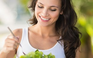 Eat healthy nutrients for healthy hair